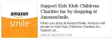 Support Kids Klub Children Charities Inc. by shopping at AmazonSmile